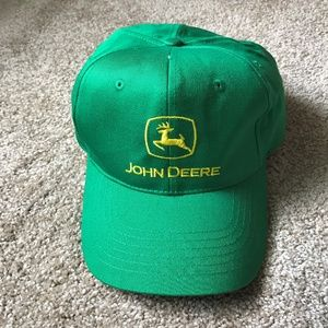 fc4ad1b6 John Deere Logo Baseball Cap